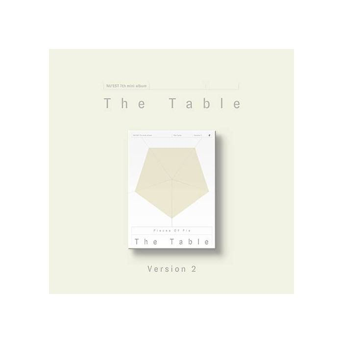 Nu'est - 7th Mini Album The Table (Ver. 2)