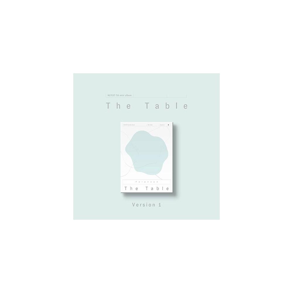 Nu'est - 7th Mini Album The Table (Ver. 1)