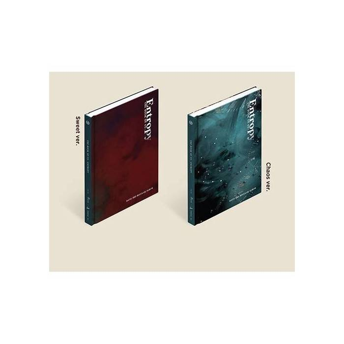 Day6 - 3rd Album The Book of Us Entropy