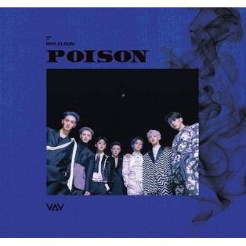 VAV - 5th Mini Album: Poison CD