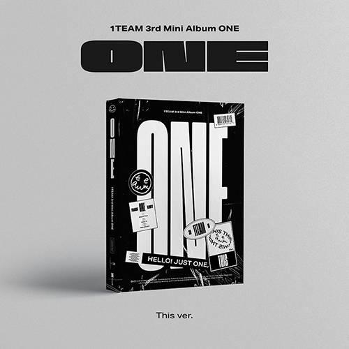 1TEAM - 3rd Mini Album ONE (This Ver.)