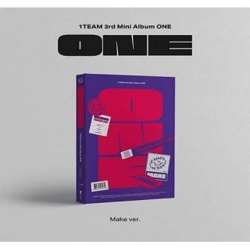 1TEAM - 3rd Mini Album: ONE CD (Make Version)