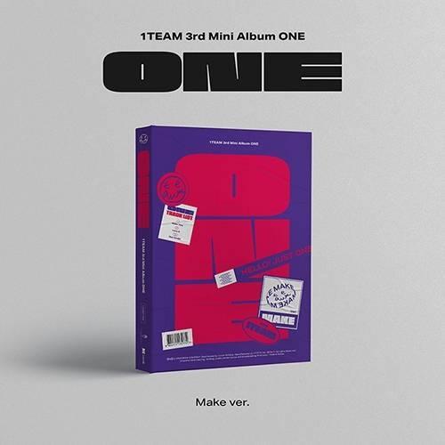 1TEAM - 3rd Mini Album ONE (Make Ver.)