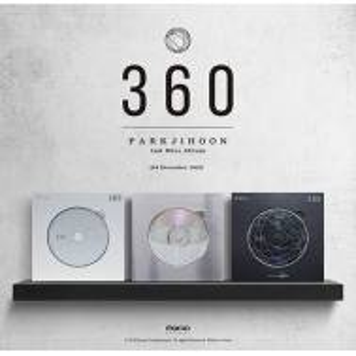 Park Jihoon - 2nd Mini Album: 360 CD (180 Degrees Version)
