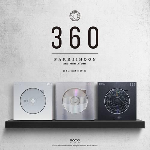 Park Ji Hoon - 2nd Mini Album: 360 CD (360 Degrees Version)