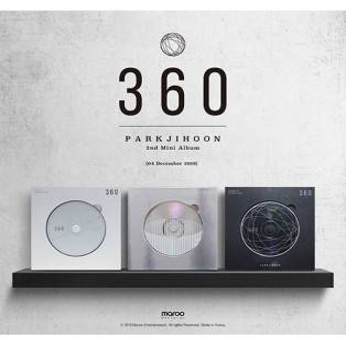 Park Jihoon - 2nd Mini Album: 360 CD (360 Degrees Version)