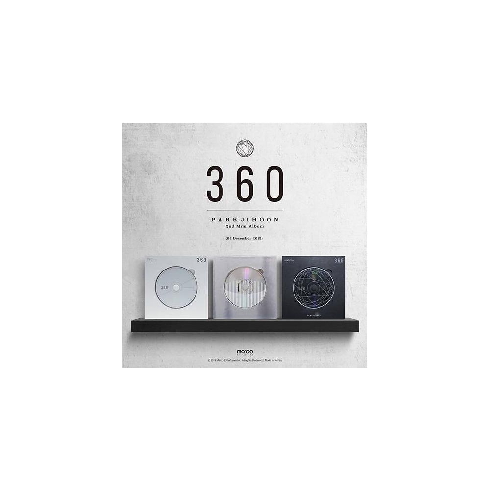 Park Jihoon - 2nd Mini Album 360 (360 Degrees Ver.)