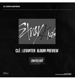 Stray Kids - Cle : LEVANTER CD (Limited Edition, Calendar/Bookmark Available)
