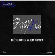 Stray Kids - Cle : LEVANTER CD (Normal Edition, Calendar/Bookmark Available)