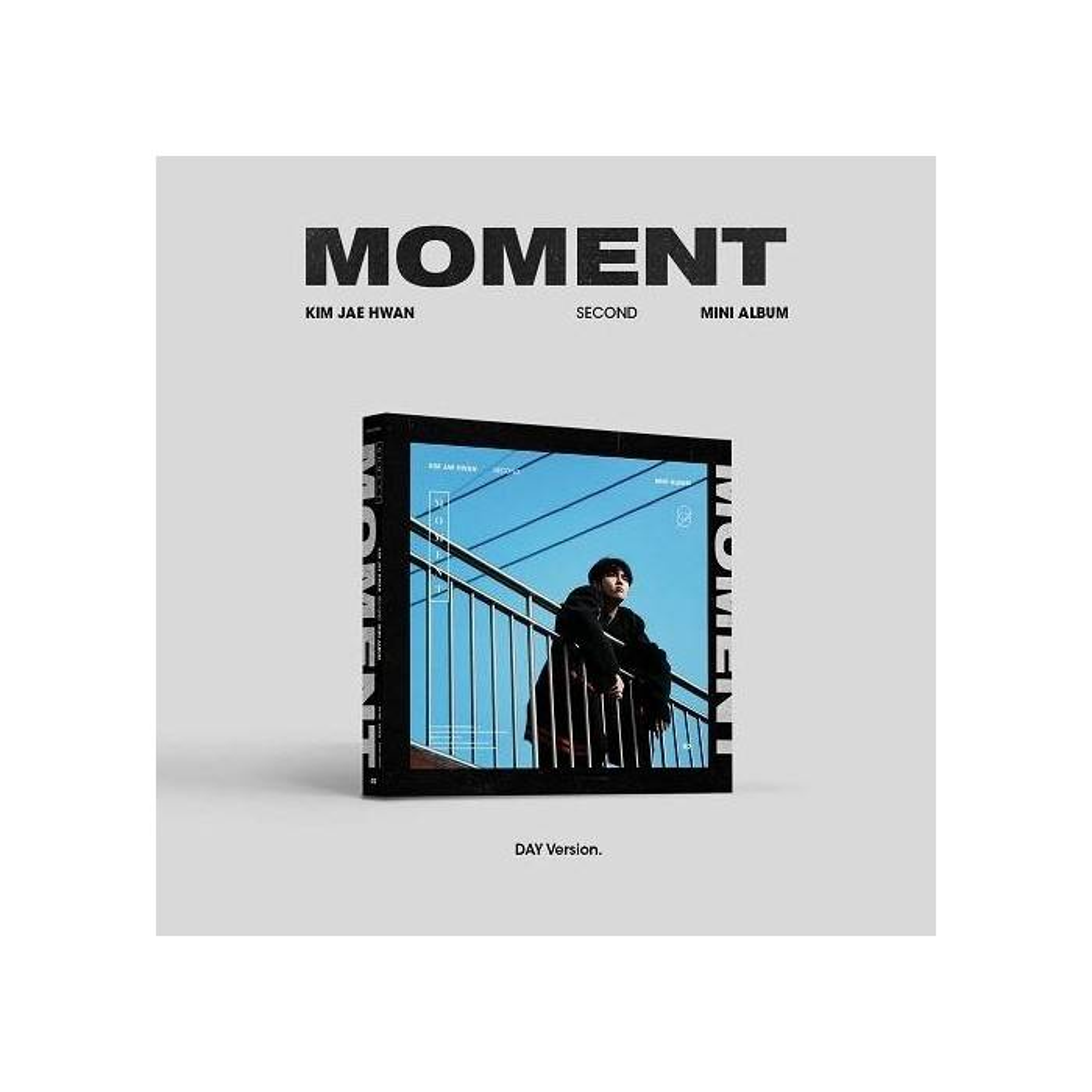 Kim Jae Hwan - 2nd Mini Album Moment (Day Ver.)