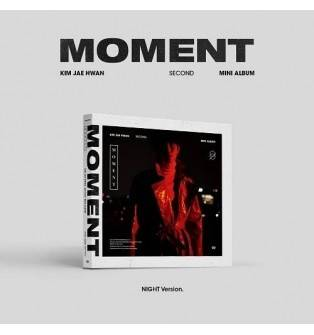 Kim Jae Hwan - 2nd Mini Album: Moment CD (Night Version)