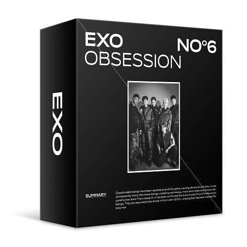 EXO - 6th Album OBSESSION Kit Album