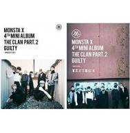 Monsta X - 4th Mini Album: The Clan 2.5 Part 2 Guilty CD (Random Version)