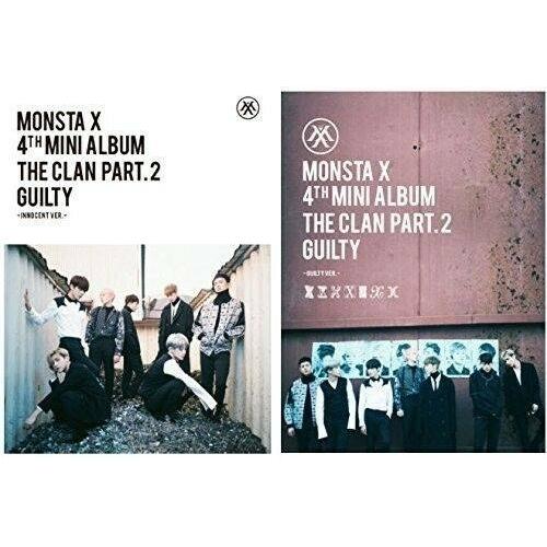 Monsta X - 4th Mini Album The Clan 2.5 Part 2 Guilty (Random Ver.)