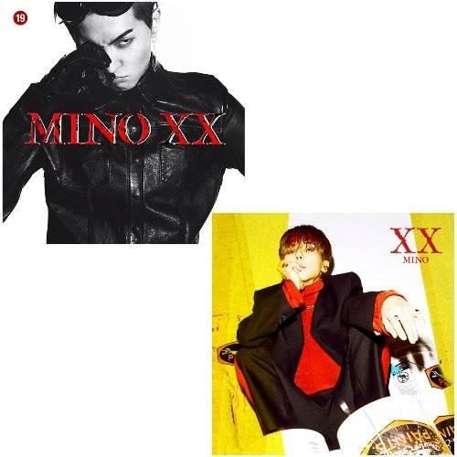 Mino - 1st Album: XX CD (Random Version)