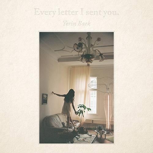 Yerin Baek - Every letter I sent you CD
