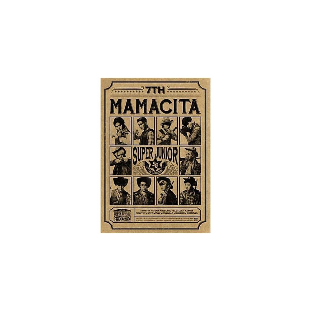 Super Junior - 7th Album Mamacita (B Ver.)