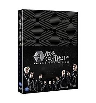 EXO - EXO From,, EXOPLANET 1 - The Lost Planet In Seoul DVD