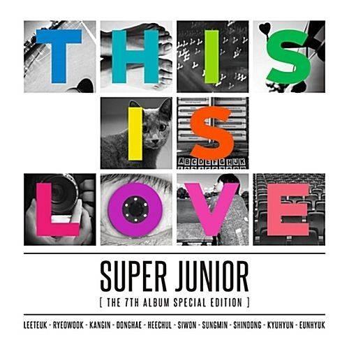 Super Junior - 7th Album Repackage: This is Love CD