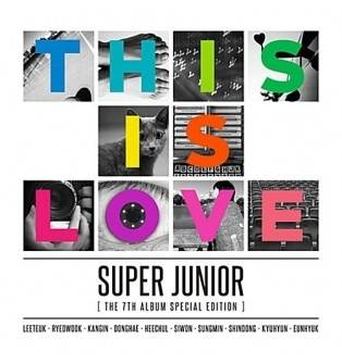 Super Junior - 7th Album Repackage This is Love