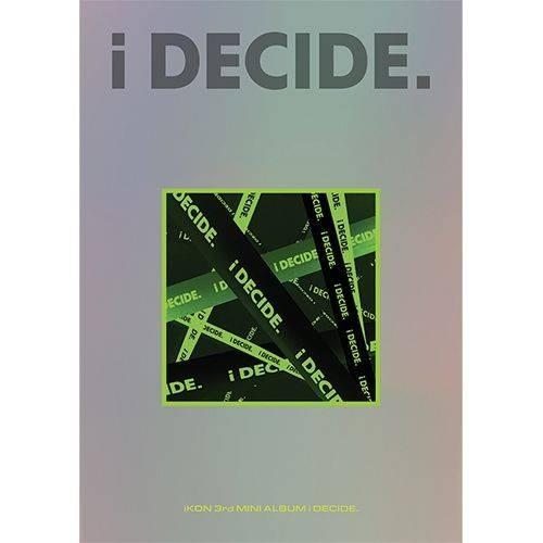 iKON - 3rd Mini Album: i DECIDE CD (GREEN Version)