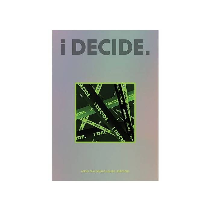 iKON - 3rd Mini Album i DECIDE (Random Ver.)