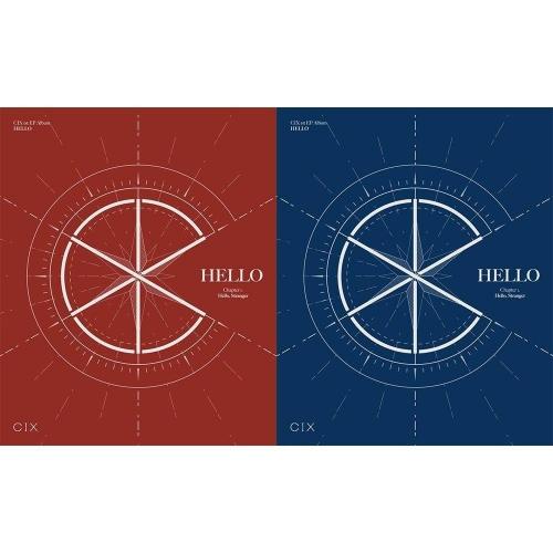 CIX - 1st EP Album 'HELLO' Chapter 1. Hello, Stranger CD (Random Version)