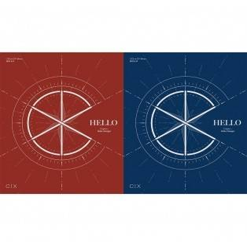 CIX - 1st EP Album 'HELLO' Chapter 1. Hello,, Stranger (Random Ver.)