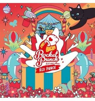 Rocket Punch - 2nd Mini Album: Red Punch CD