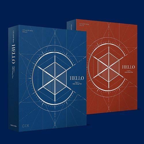 CIX - 2nd Mini Album 'HELLO' Chapter 2 Hello, Strange Place (Random Ver.)