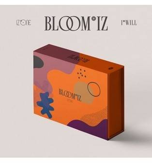 IZ*ONE - 1st Album: BLOOM*IZ CD (I*WILL Version)