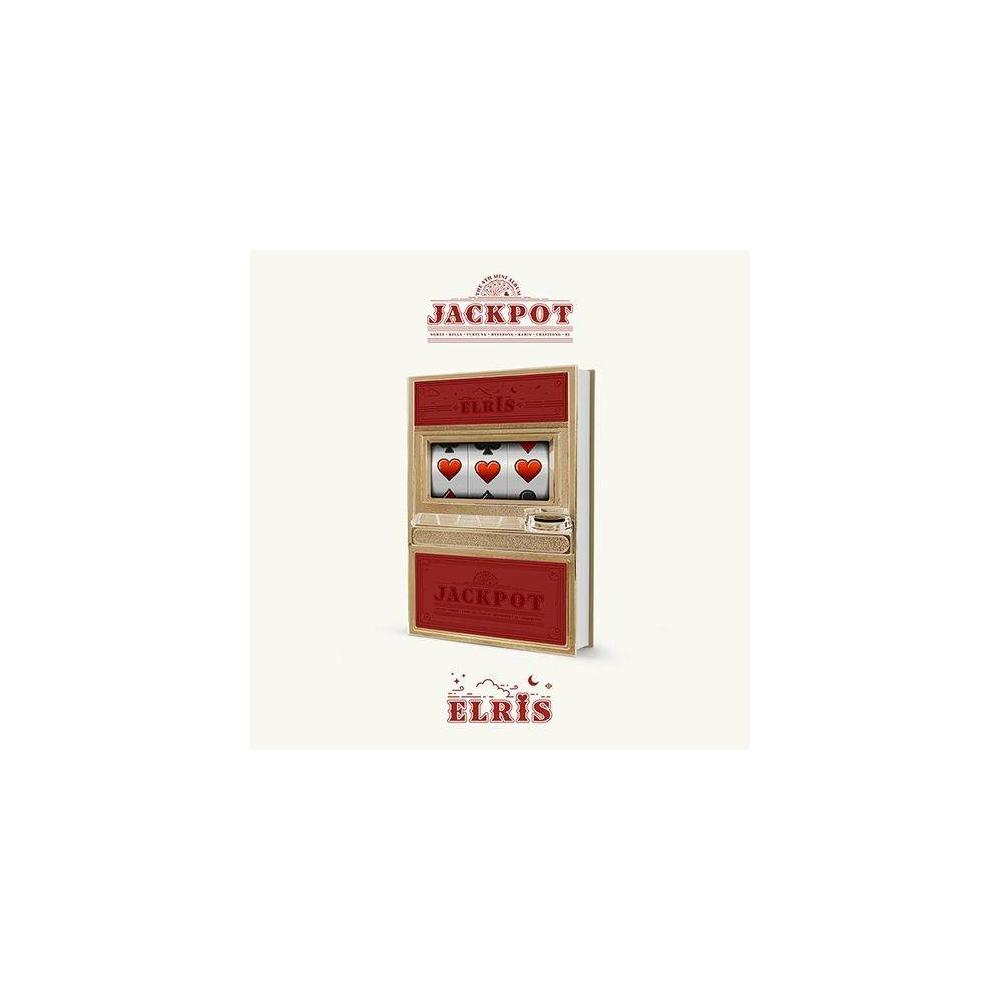 Elris - 4th Mini Album JACKPOT (Red Ver.)