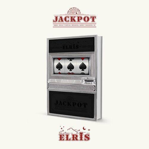Elris - 4th Mini Album: JACKPOT CD (Black version)