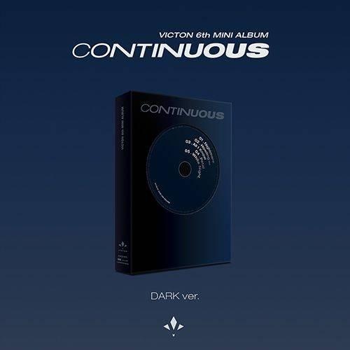 VICTON - 6th Mini Albm: Continuous CD (DARK Version)