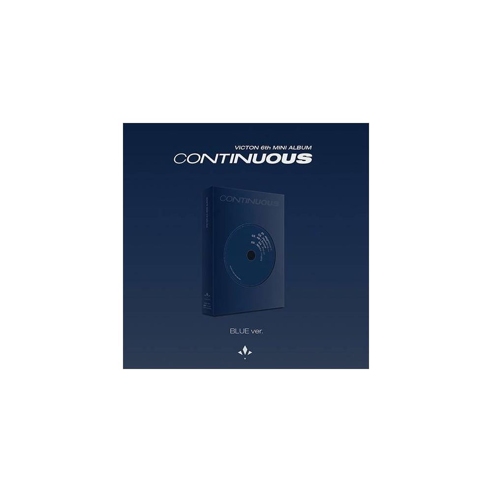 VICTON - 6th Mini Albm Continuous (BLUE Ver.)