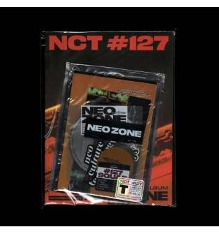 NCT 127 - 2nd Album: Neo Zone CD (T Version, Little Manufacturing Dent on Back Cover)