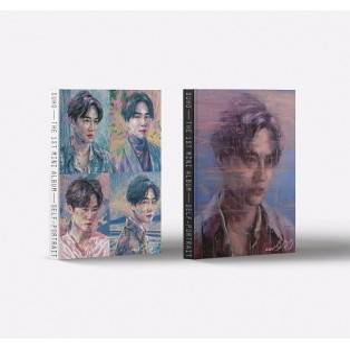 SUHO - 1st Mini Album: Self-Portrait CD