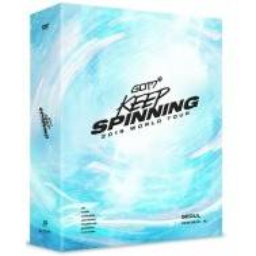 GOT7 - 2019 World Tour 'KEEP SPINNING'' In Seoul DVD