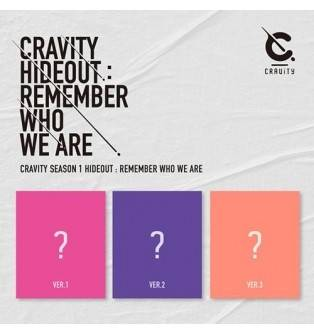CRAVITY - SEASON 1 HIDEOUT: REMEMBER WHO WE ARE CD