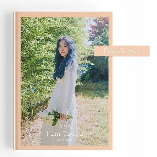 Yes, I am Tzuyu. Photobook (Peach Version)