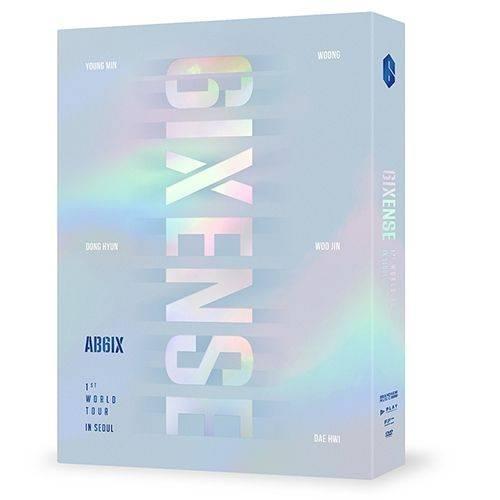 AB6IX - 1ST World Tour 6IXENSE In Seoul DVD