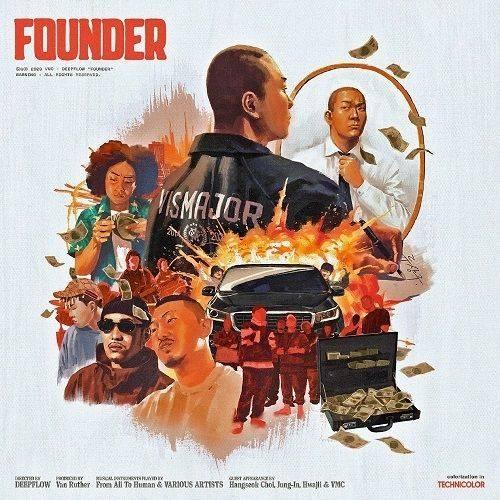 Deepflow - 4th Album Founder (Normal Edition)