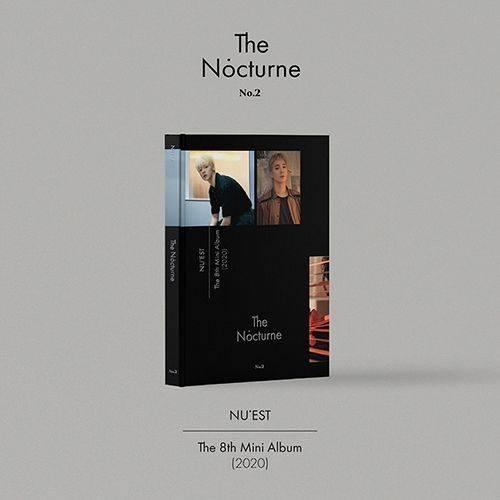 Nu'est - 8th Mini Album: Nocturne CD (Version 2)