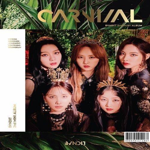 BVNDIT - 2nd Mini Album: Carnival CD