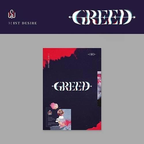 Kim Woo Seok - 1st Album DESIRE : GREED (K Ver.)