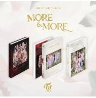 TWICE - 9th Mini Album: More & More CD (preorder photocard set available)
