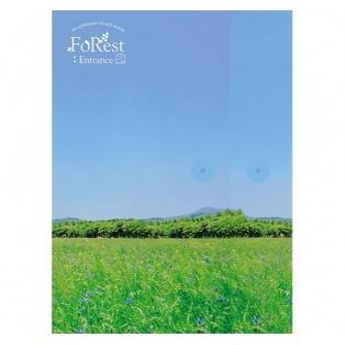 Seo Eunkwang (Btob) - 1st Mini Album FoRest : ntrance (Silver Ver.)
