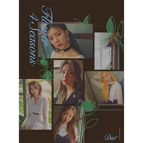 DIA - 6th Mini Album Flower 4 Seasons (Seasons Ver.)
