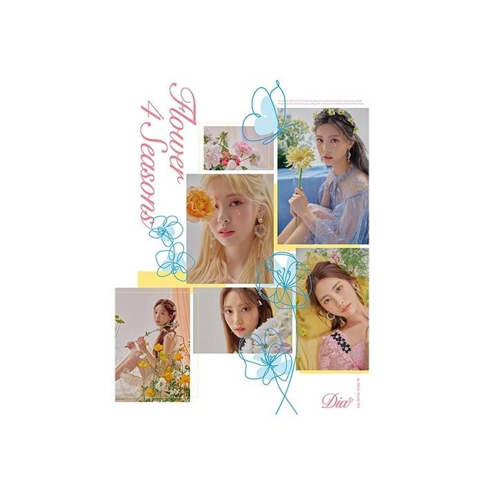 DIA - 6th Mini Album Flower 4 Seasons (Flower Ver.)