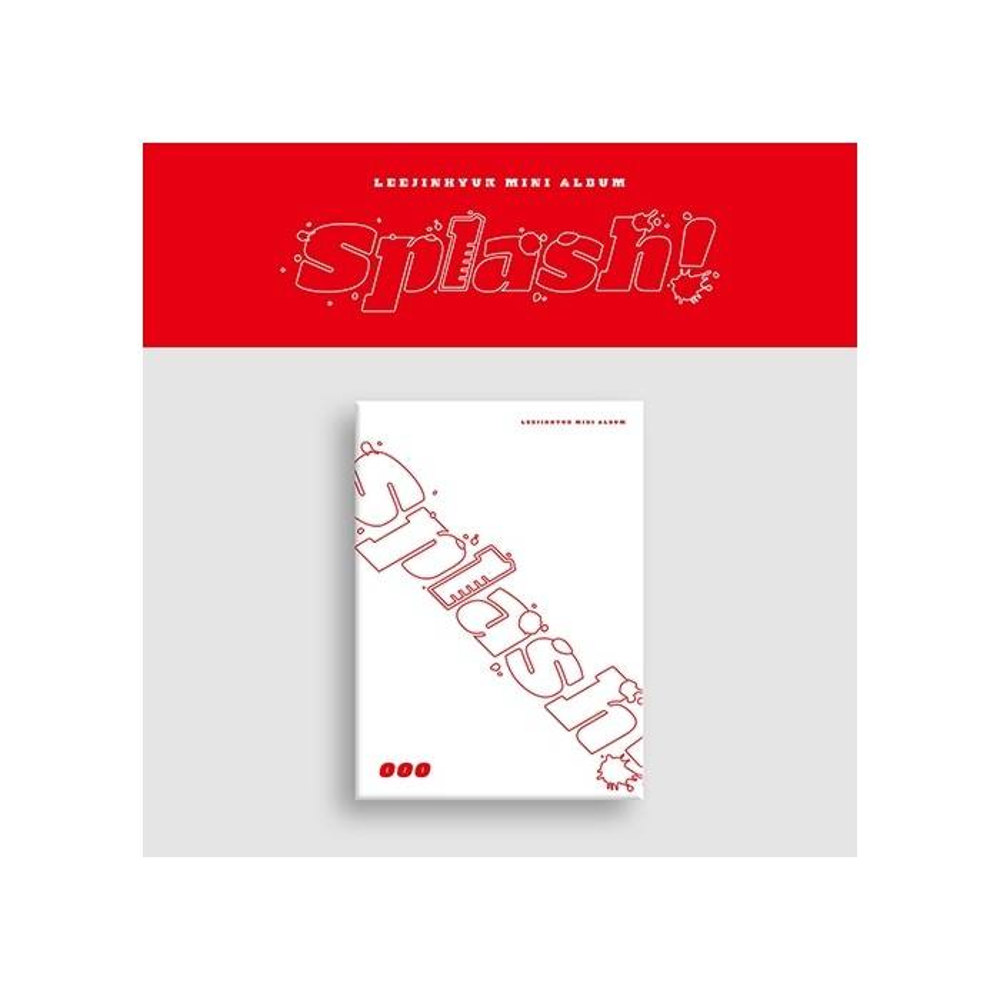 Lee Jin Hyuk - 1st Mini Album Splash! (ooo Ver.)